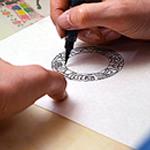 手書き文字の印稿